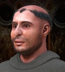 Il volto di Sant'Antonio da Padova come ricostruito dal Museo di Antropologia di Padova