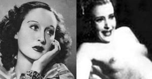Le attrici e rivali Doris Duranti e Clara Calamai