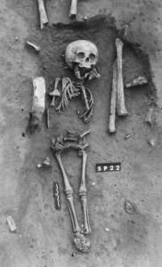 Il bimbo Down trovato in Francia (Foto SPL)