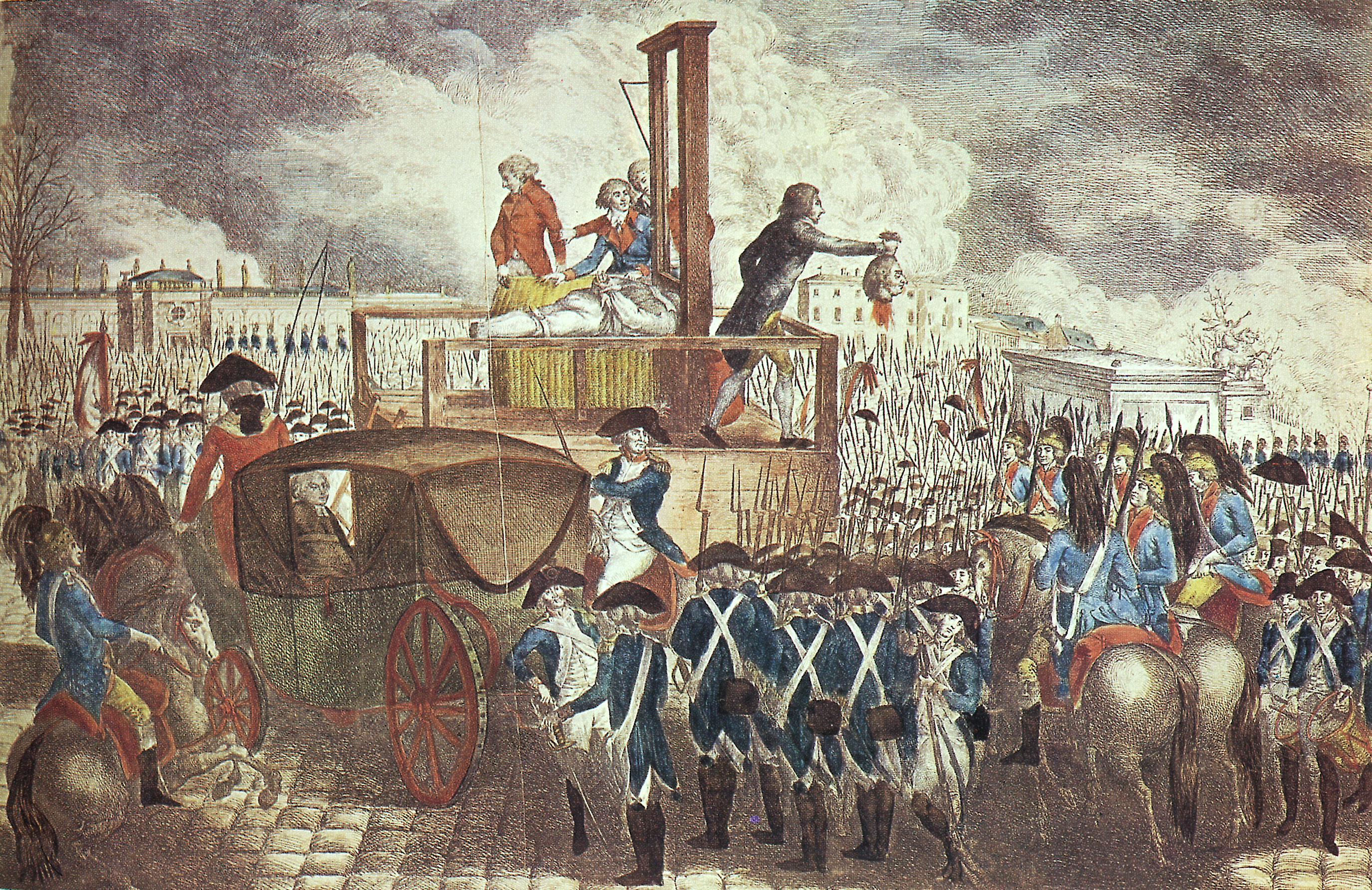 From an eyewitness: Looting after the death of Louis XVI