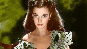 """Vivien Leigh (1913-1967) nel ruolo di Rossella O'Hara in """"Via col vento"""""""