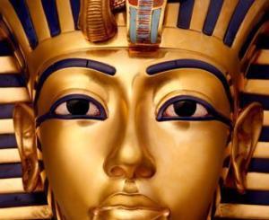 Volto di Tutankhamon