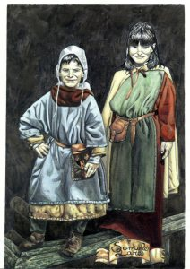 Bambini nel Medioevo
