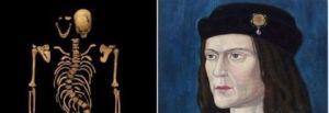 Ritratto e scheletro di Riccardo III