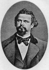 Ludwig II di Baviera in età più matura, visibilmente appesantito