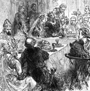 A tavola nel Rinascimento. A partire dal '500 lo zucchero si diffuse nella cucina europea