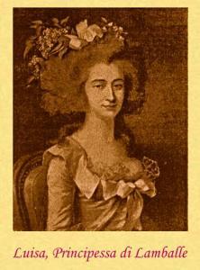 Ritratto della Principessa di Lamballe