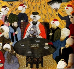 Ottomans at the table