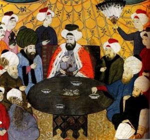 Osmanen am Tisch