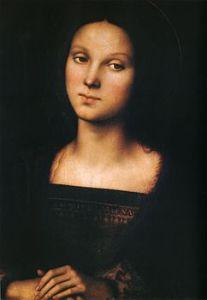 Maria Maddalena nell'interpretazione pittorica del Perugino (1500 circa)