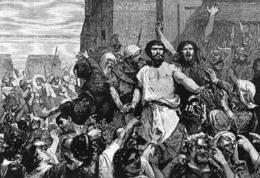 La liberazione di Barabba (stampa)