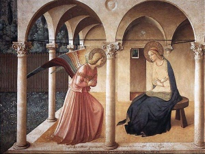 """L'""""Annunciazione"""" del Beato Angelico"""