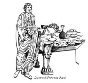 Antico romano a tavola. La crema di questo post ci è stata tramandata da Apicio