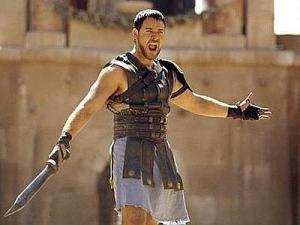 """Russel Crowe, il """"gladiatore"""" più celebre del Cinema. I gladiatori dell'attuale Turchia erano vegetariani"""