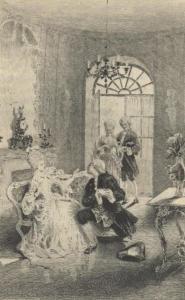 """Vita quotidiana a Versailles. Madame Campan, nelle sue """"Memorie"""" ci fornisce, tra gli altri, alcuni aneddoti sul Natale a corte"""