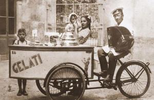 Un carretto di gelati (fine '800)