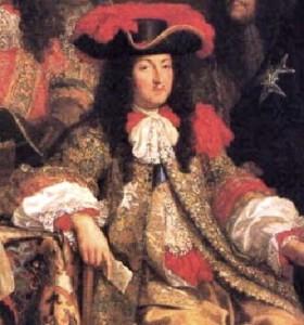 Luigi XIV. Il Re Sole era alto 160 centimetri circa