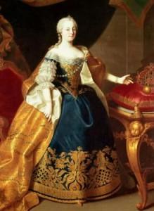 Ritratto dell'Imperatrice d'Austria Maria Teresa