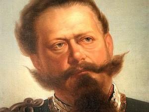 Volto di Vittorio Emanuele II. Tra i pettegolezzi storici più famosi, c'è quello che vuole il primo re d'Italia figlio in realtà di un macellaio