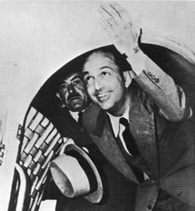 Umberto II lascia definitivamente l'Italia (Giugno 1946)