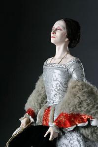 """Anna Bolena raffigurata in una scultura. Dal '500 a oggi, si contano numerose """"apparizioni"""" del fantasma di Anna Bolena"""