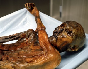 Il corpo di Oetzi