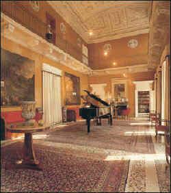 Interno di Villa San Martino