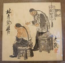 Un antico medico cinese intento a praticare l'agopuntura. La tomba di un medico vissuto in Cina 700 anni fa è stata appena rinvenuta da un team di archeologi