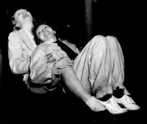 Marlene Dietrich e Claudette Colbert