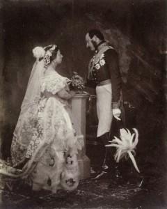 La regina Vittoria sposa l'amato principe Alberto di Sassonia Coburgo Gotha