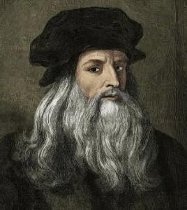 Ritratto di Leonardo da Vinci. Il grande artista era un animalista convinto