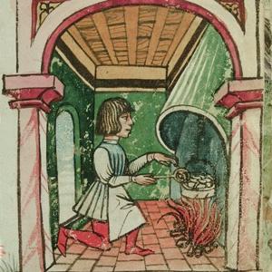 Una cucina medievale