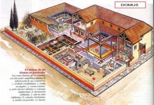 Una tipica domus romana
