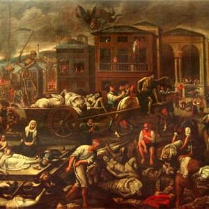 Un'antica epidemia di peste