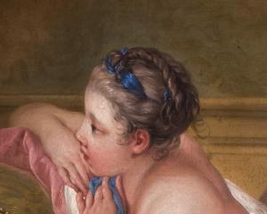 Ritratto di Louise O'Murphy, una delle amanti preferite di Luigi XV