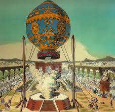 La mongolfiera a Parigi nel 1783