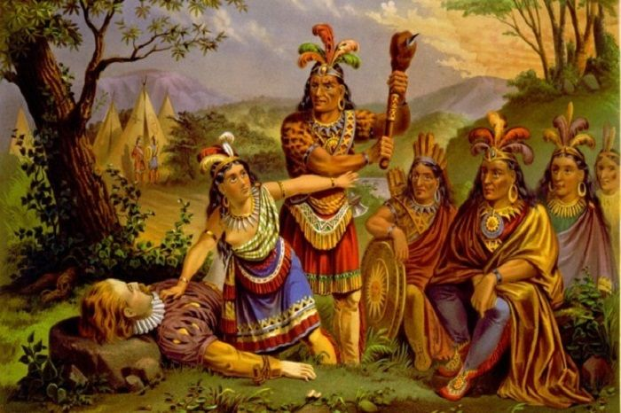 a history of the lives of the native americans