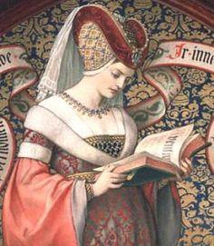 Una donna del Medioevo. Il seno era una delle parti del corpo che le donne curavano di più