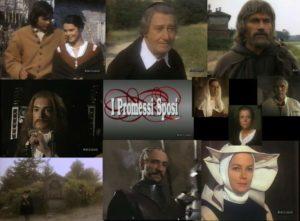 """Locandina dello sceneggiato tv di Salvatore Nocita """"I promessi sposi"""" (1989)"""