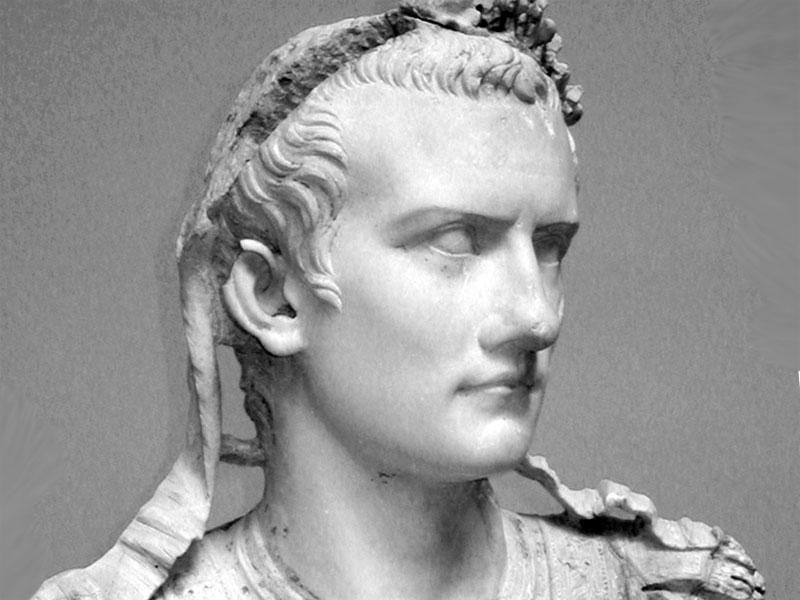 Caligola. Le follie attribuitegli dalle fonti non si contano