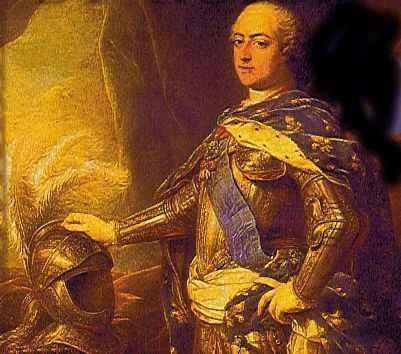 Ritratto di Luigi XV. Il re morì di vaiolo nel 1774