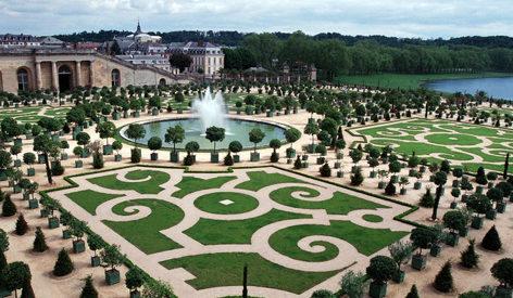 Reggia di Versailles: veduta dei giardini