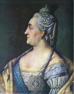 """Ritratto di Caterina di Russia, detta """"la Grande"""""""