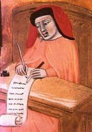 Notaio medievale