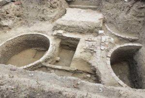 I resti della casa del Conte Ugolino della Gherardesca appena rinvenuti a Pisa