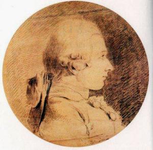Presunto ritratto del Marchese De Sade ventenne