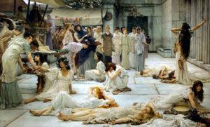 Prostituzione nell'antichità. Una prostituta dell'Antica Roma aveva spesso i capelli rossi