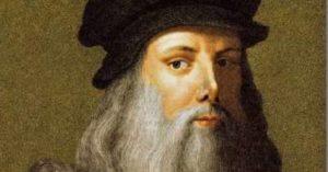 """Leonardo da Vinci. Tra i suoi mille progetti, il genio italiano pensò anche ad una """"macchina per fare la pasta"""""""