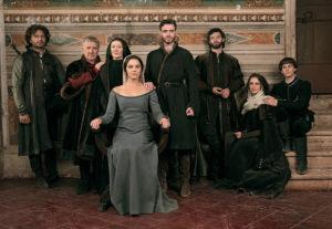 Il cast de I Medici. I Medici 2 è prevista per il 2018