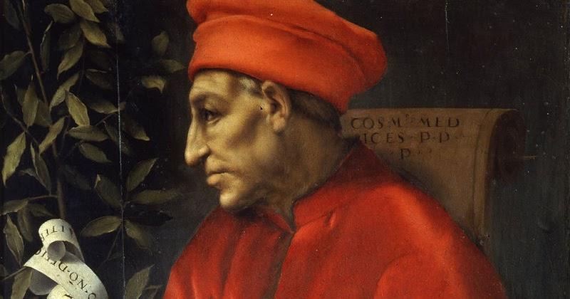 """Cosimo de' Medici, detto """"il Vecchio"""", ritratto dal Pontormo"""
